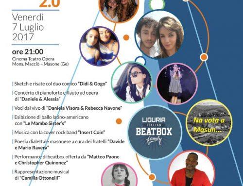 Masone's got Talent – 7 luglio 2017 – ore 21 Teatro Mons. Macciò