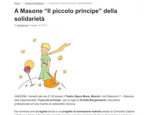"""La Compagnia """"I Calzini Spaiati"""" a Masone"""