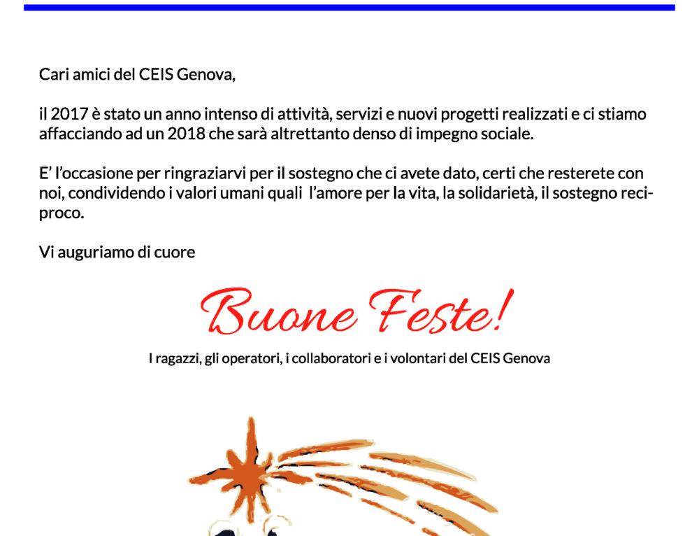 Buone Feste … Fondazione Centro di Solidarietà Bianca Costa Bozzo Onlus