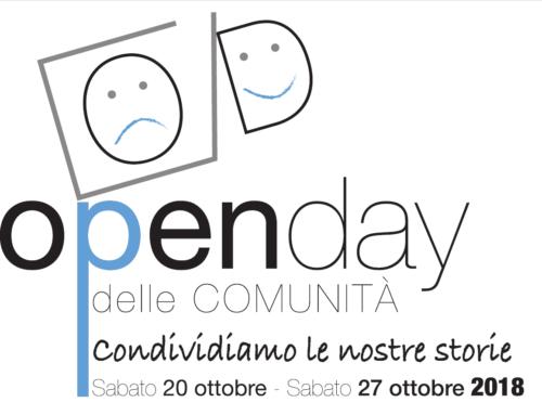 OpenDay 2018:   La Comunità di Trasta apre al territorio – sabato 27 ottobre 2018