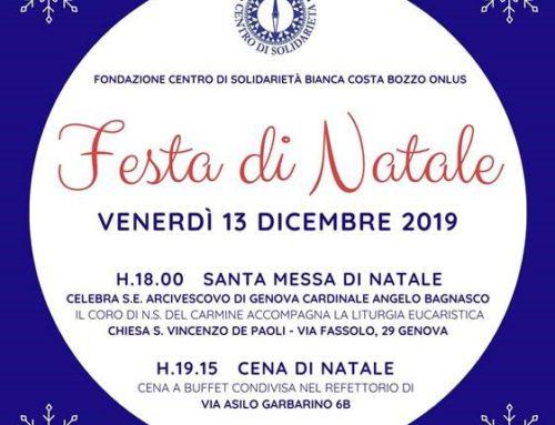 FESTA DI NATALE CEIS GENOVA 2019